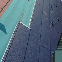 ⑤ 屋根材上葺き