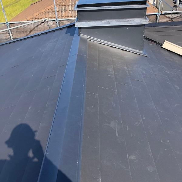 三重県松阪市 M様邸 屋根重ね葺き工事(屋根カバー工法) (6)