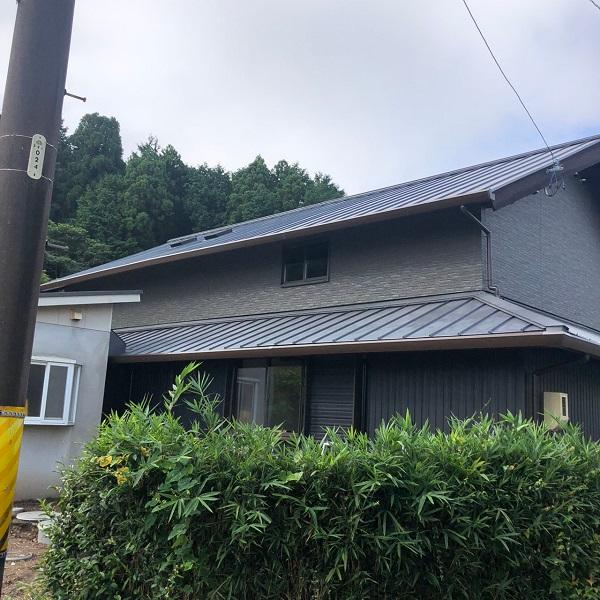 三重県伊勢市 Y様邸 屋根葺き替え工事、外壁サイディング張替え工事 (1)