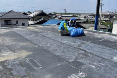 松阪市 屋上屋根防水工事